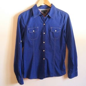 😍 Boys Tommy Hilfiger Shirt | Button down Blue